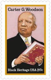 Carter G Woodson Stamp