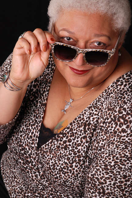 jewelle gomez head shot by Irene Young 2013