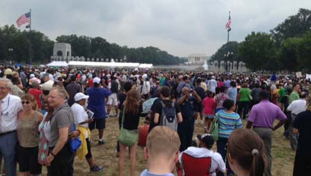 Reflections on the March on Washington