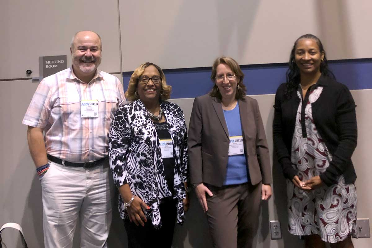 2019 American Psychological Association panel speakers