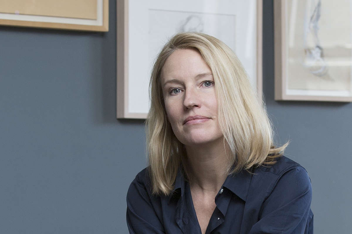 Photo of Jennifer Baumgardner, new editor in chief of Women's Review of Books at Wellesley College