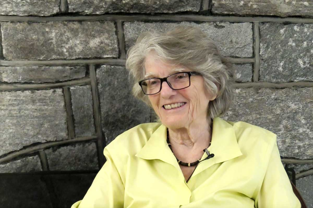 Barbara Newell, former president of Wellesley College