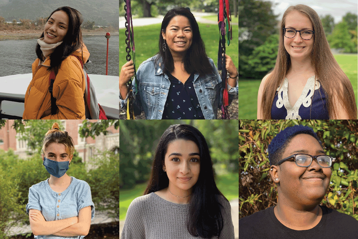 Wellesley Centers for Women student interns for 2020-2021