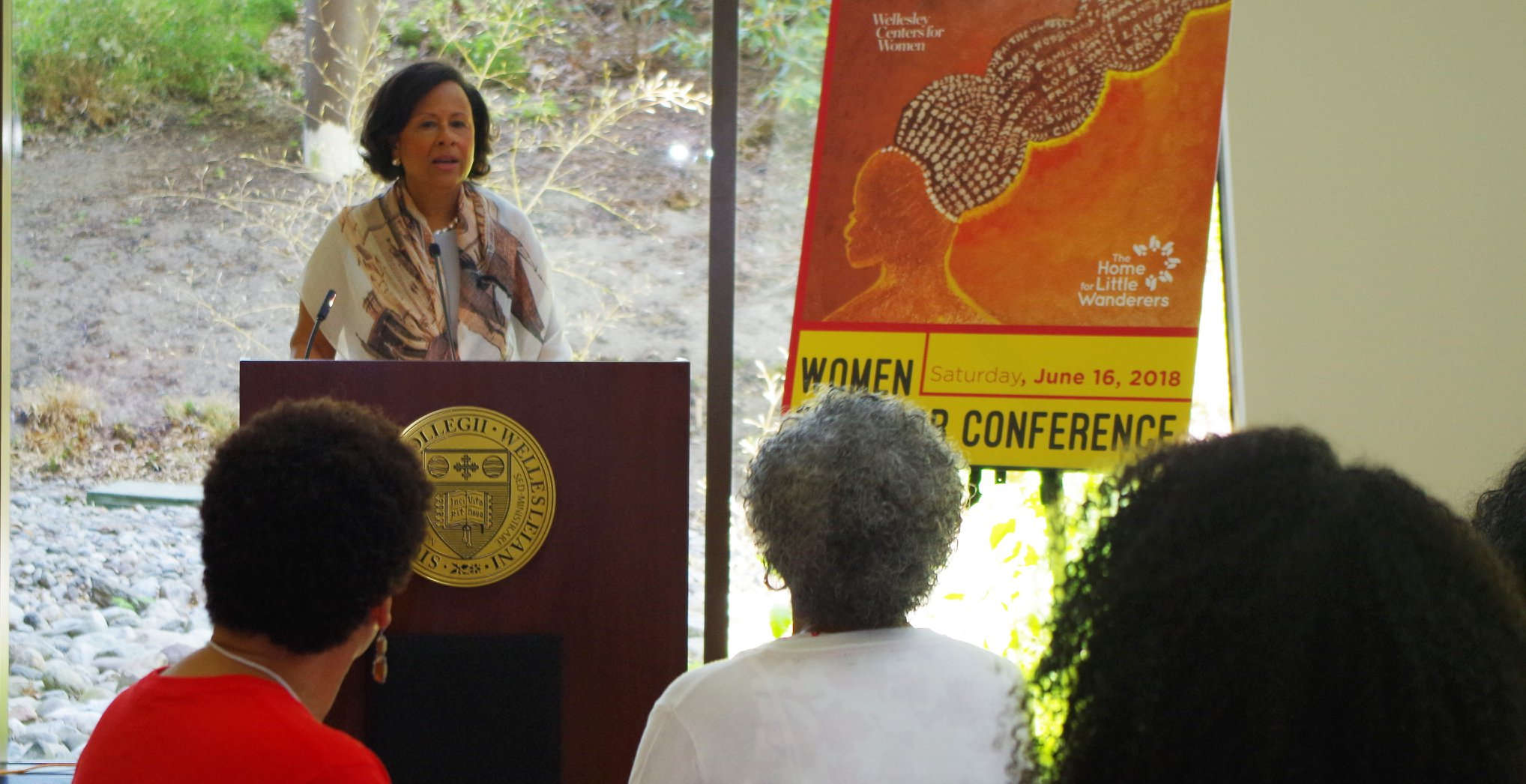 Wellesley College President Dr. Paula Johnson speaks at Women of Color Conference