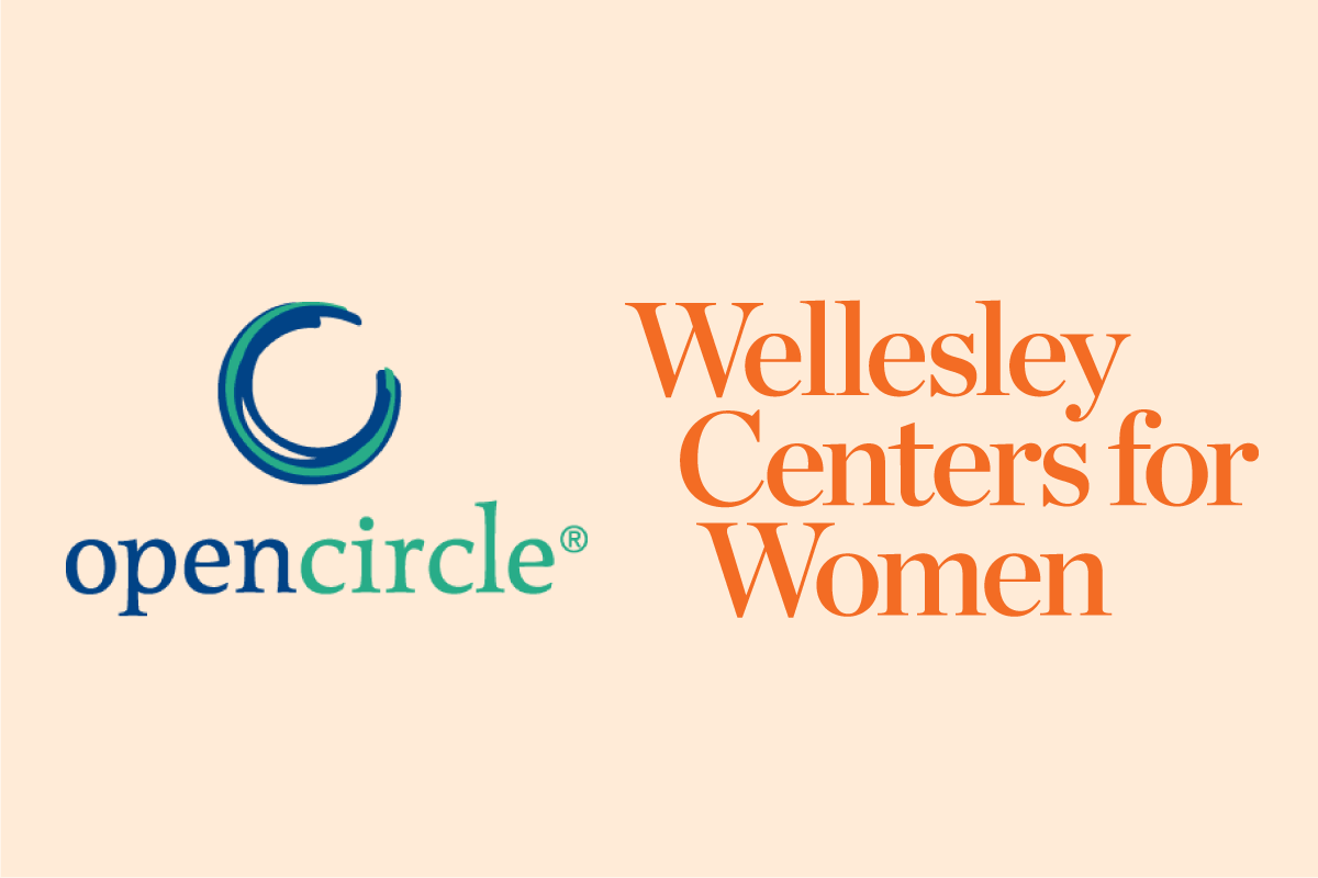 Open Circle and Wellesley Centers for Women logos