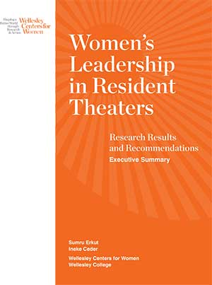 womens leadership theaters exec summary cover