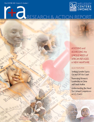 Research & Action Report Fall/Winter 2009