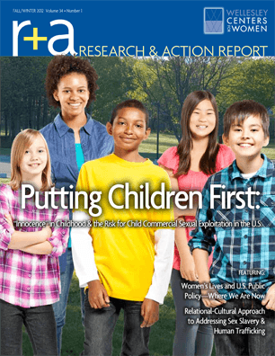 Research & Action Report Fall/Winter 2012