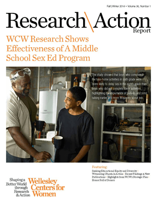 Research & Action Report Fall/Winter 2014