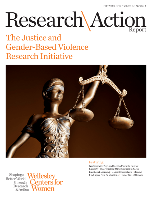 Research & Action Report Fall/Winter 2015