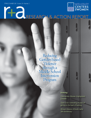 Research & Action Report Spring/Summer 2013